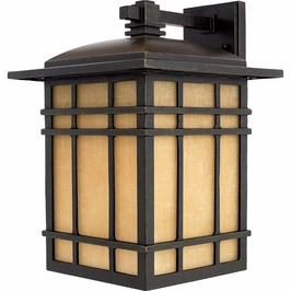 HC8411IBFL Quoizel Hillcrest Outdoor Fixture 120v CFL Self Ballasted (1) Light with Imperial Bronze Finish