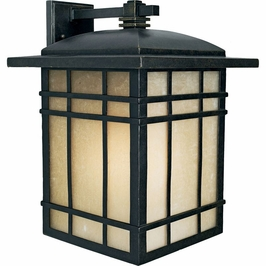 HC8413IBFL Quoizel Hillcrest Outdoor Fixture 120v CFL Self Ballasted (1) Light with Imperial Bronze Finish