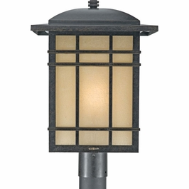 HC9013IBFL Quoizel Hillcrest Outdoor Fixture 120v CFL Self Ballasted (1) Light with Imperial Bronze Finish