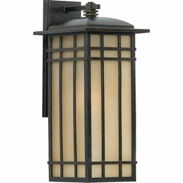 HCE8409IB Quoizel Hillcrest Outdoor Fixture 120v A21 Medium Base (1) Light with Imperial Bronze Finish