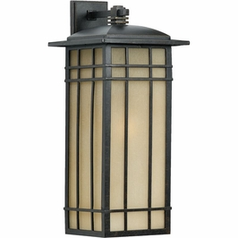 HCE8411IB Quoizel Hillcrest Outdoor Fixture 120v A21 Medium Base (1) Light with Imperial Bronze Finish