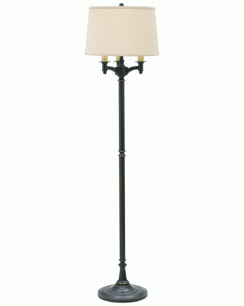 l800 ob house of troy 6275quot oil rubbed bronze 6 way floor With 6 way floor lamp shade