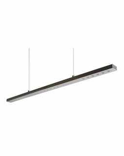 LC5720-0-15 Alico The Wand (24) Light 1 Watt Pendant Light Fixture with Chrome Finish