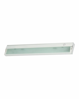 LD026RSF-D Alico ZeeLite (3) Light 2.5 Watt Cabinet Light with White Finish
