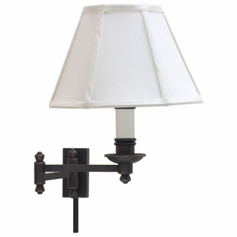 LL660-OB House of Troy Decorative Wall Swing Lamp Oil Rubbed Bronze