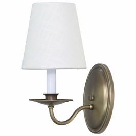 LS217-AB House of Troy Lake Shore Wall Sconce Antique Brass