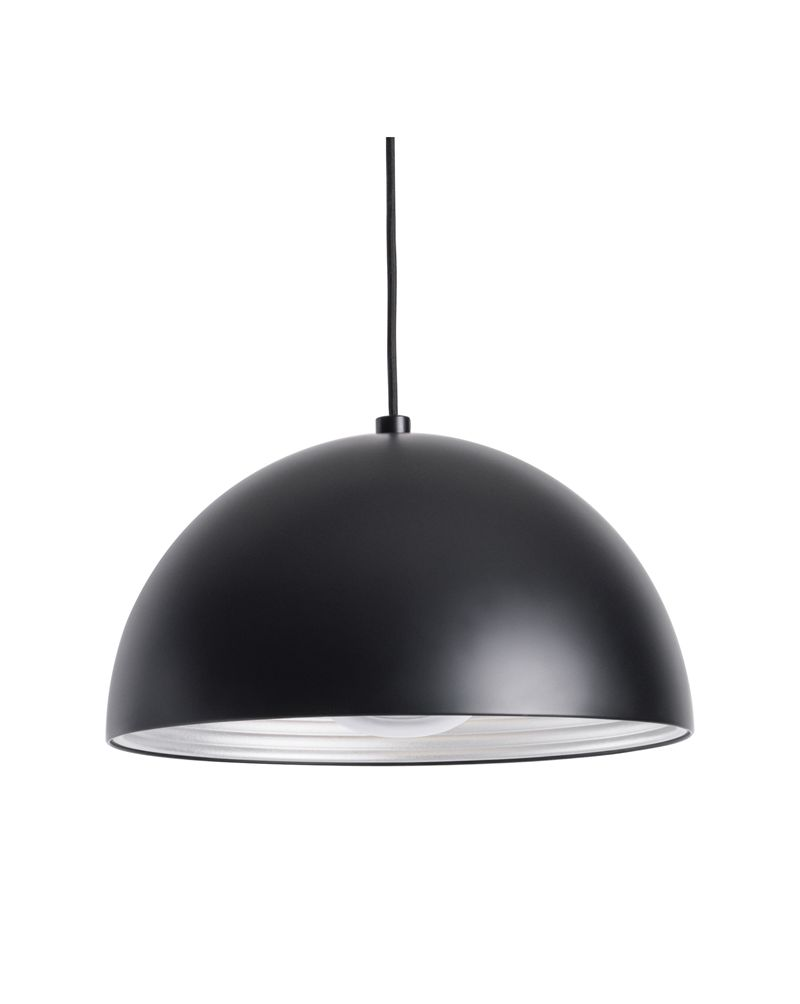 Ps8180 30 31 Alico Cupola 1 Light 100 Watt Pendant Fixture With Black Finish