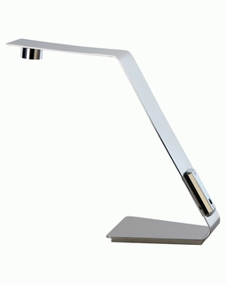 TD1302 Trend Edgy Task Table Lamp with Polished Stainless Steel (DISCONTINUED PRODUCT)