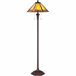 TF1135F Quoizel Arden Lamp 120v A19 Medium Base (2) Light with  Finish