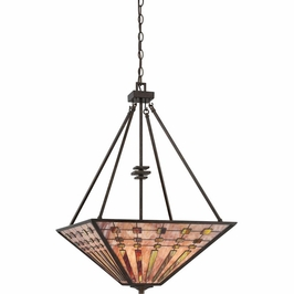 TFBK2820IO Quoizel Banks Indio Bronze (4) Light Pendant