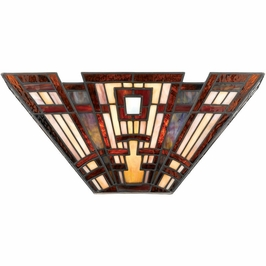 TFCC8802 Quoizel Classic Craftsman Wall Fixture 120v B10 Candelabra (2) Light with  Finish