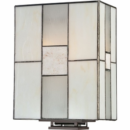 TFFN8702WT Quoizel Finley Western Bronze (2) Light Wall Sconce