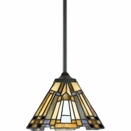 TFIK1508VA Quoizel Inglenook Mini Pendants 120v A19 Medium Base (1) Light with Valiant Bronze Finish