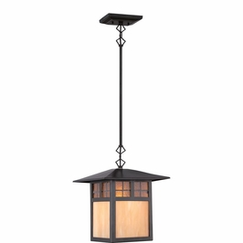 TFSM1509VB Quoizel Samara Mini Pendants 120v A19 Medium Base (1) Light with Vintage Bronze Finish