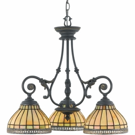 TFSO5103DN Quoizel Sonnet Dynasty (3) Light Chandelier