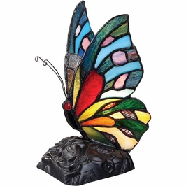 TFX1518T Quoizel Tiffany Accent Lamp 120v T7 Candelabra (1) Light with  Finish