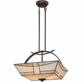TFZA2818WT Quoizel Zachary Western Bronze (3) Light Pendant