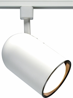 TH208 Nuvo Transitional White 1 Light R20 Track Head Bullet Cylinder