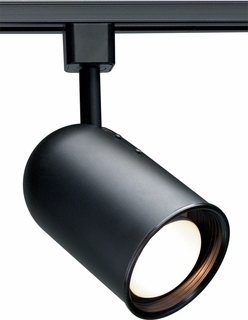 TH209 Nuvo Transitional Black 1 Light R20 Track Head Bullet Cylinder