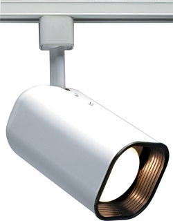 TH214 Nuvo Transitional White 1 Light R30 Track Head Soft Square