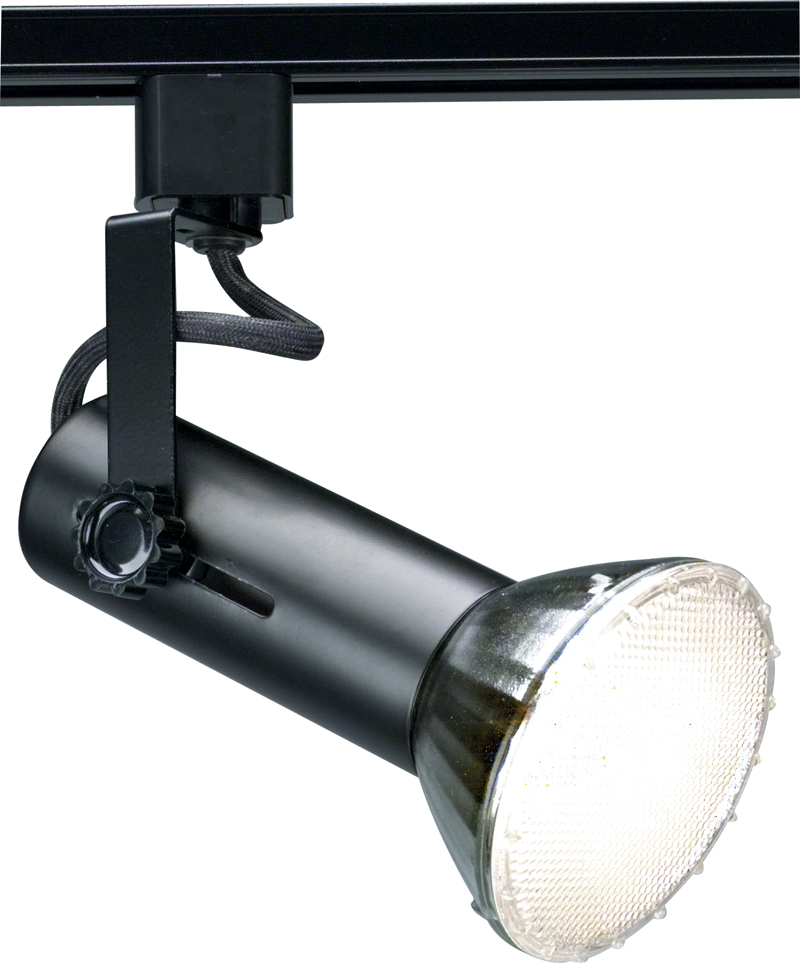TH227 Nuvo Transitional Black 1 Light 2 Inch Track Head
