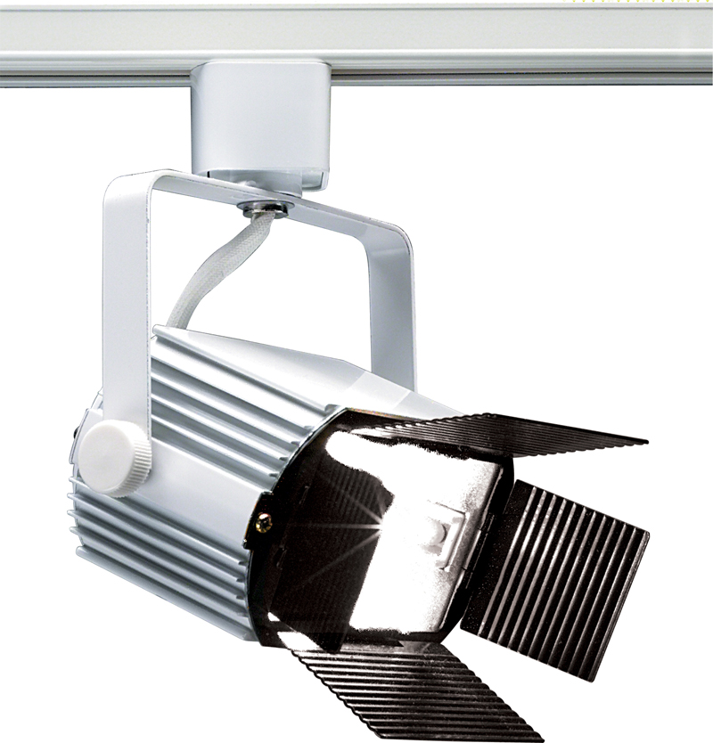TH228 Nuvo Transitional White 1 Light Track Head Power