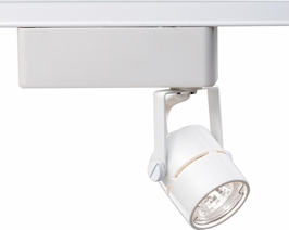 TH234 Nuvo Transitional White 1 Light MR16 12V Track Head Round