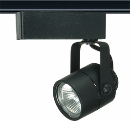 TH235 Nuvo Transitional Black 1 Light MR16 12V Track Head Round