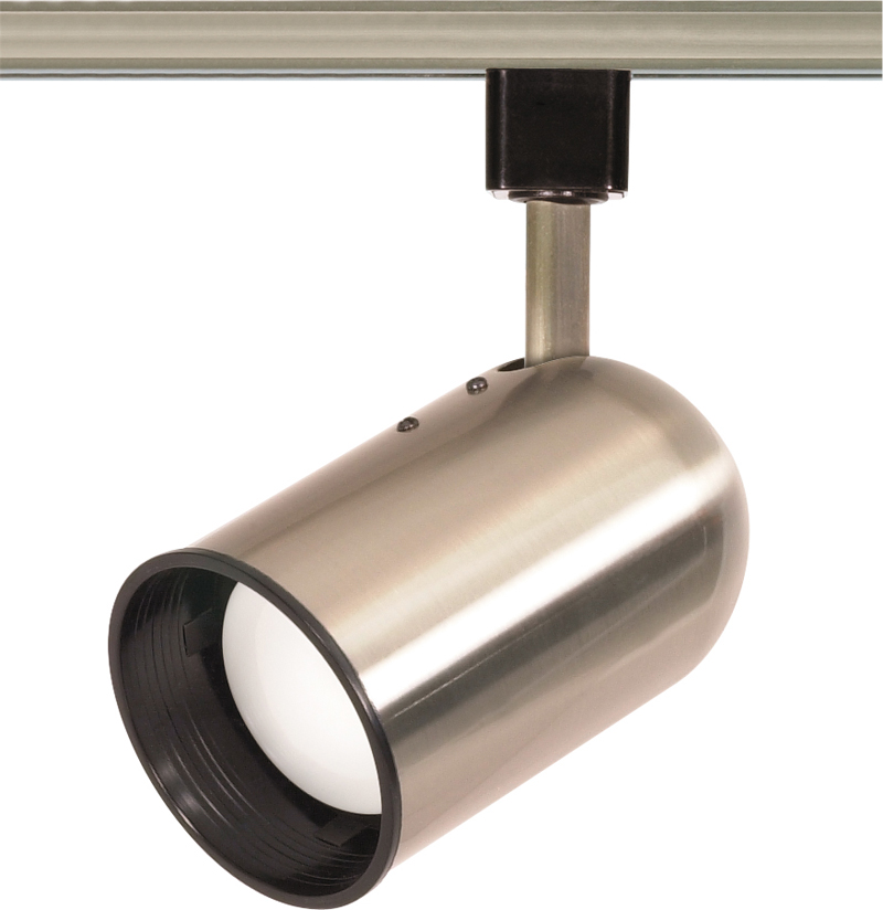 TH305 Nuvo Transitional Brushed Nickel 1 Light R20 Track
