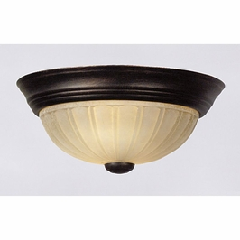 TL182EP Quoizel Tradewinds Flush Mount 120v A19 Medium Base (1) Light with Espresso Finish