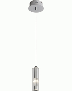 "A800026-1-T Trend ""Solo"" Crystal Pendant with Polished Chrome (DISCONTINUED PRODUCT)"