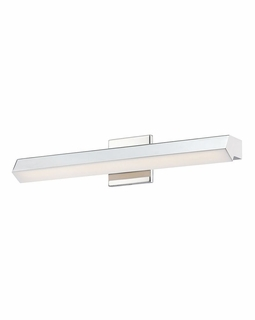 WSL100-10-15 Alico Yarmouth (1) Light 18 Watt Vanity Light Fixture with Chrome Finish