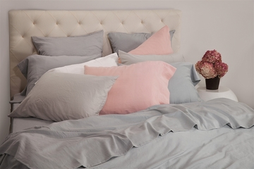 Bellino® Logan Stonewashed 300 TC Egyptian Cotton Sateen Sheets, Pillowcases, Quilts, Duvet Covers and Shams