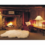 Bowron New Zealand Long Wool Sheepskin Rugs