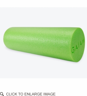 Roller - Gaiam Restore Muscle Therapy Foam Roller 18""