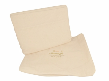Organics & More Naturesoft Organic 5 oz. Cotton Flannel Sheets, Pillowcases & Duvet Covers