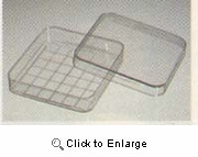 Search Dish, Square 20/pk