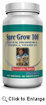 Sure Grow for Dogs 100ct
