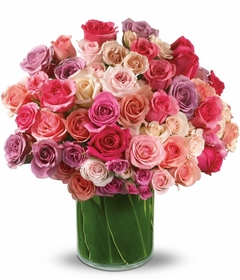 Celebrate Your Day WITH 24 PINK ROSES