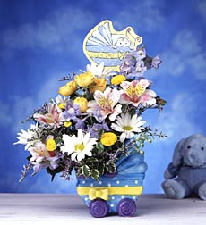 Dear Baby Boy Bouquet