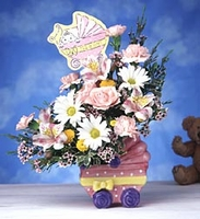 Dear Baby Girl  Bouquet