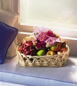 Oval Fruit and Flower Tray