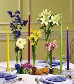 T045-02 Vase and Candle Assortment