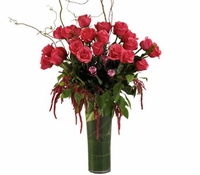 The LONG STEM ROSES  Arrangement