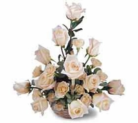 The  Sunny Day 24 BEIGE Rose Bouquet