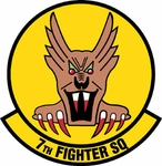 7TH Fighter Squadron Nametag