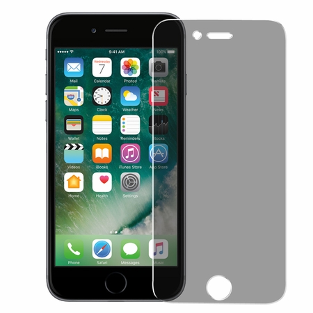 Amzer Kristal Privacy Tempered Glass HD Screen Protector for iPhone 7 Plus