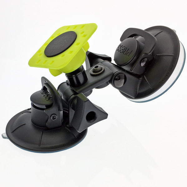 PIVOT Compact Double Suction Cup with PPK-1
