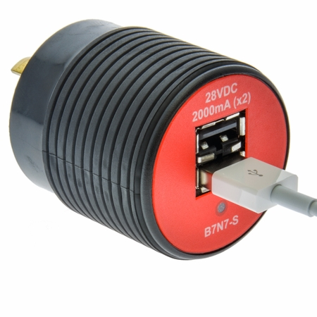GNS Charger for NEMA ML-3R plug