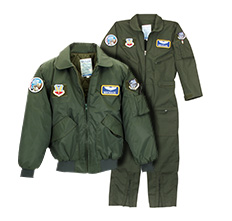 At Gibson & Barnes we understand the value of high-quality products for pilots, military, emergency response and law enforcement. We are the largest manufacturer and supplier of made-to-order uniforms, flight suits, leather jackets and flying helmets.